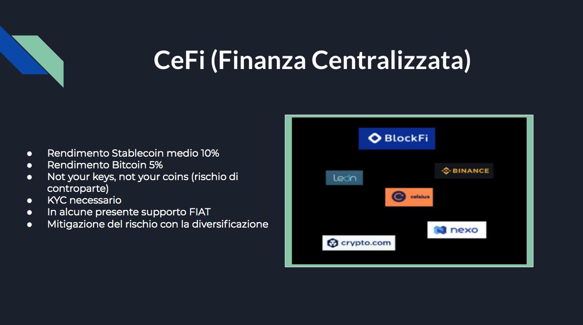 Come mettere a rendita le cryptovalute: guida completa. cefi piattaforme