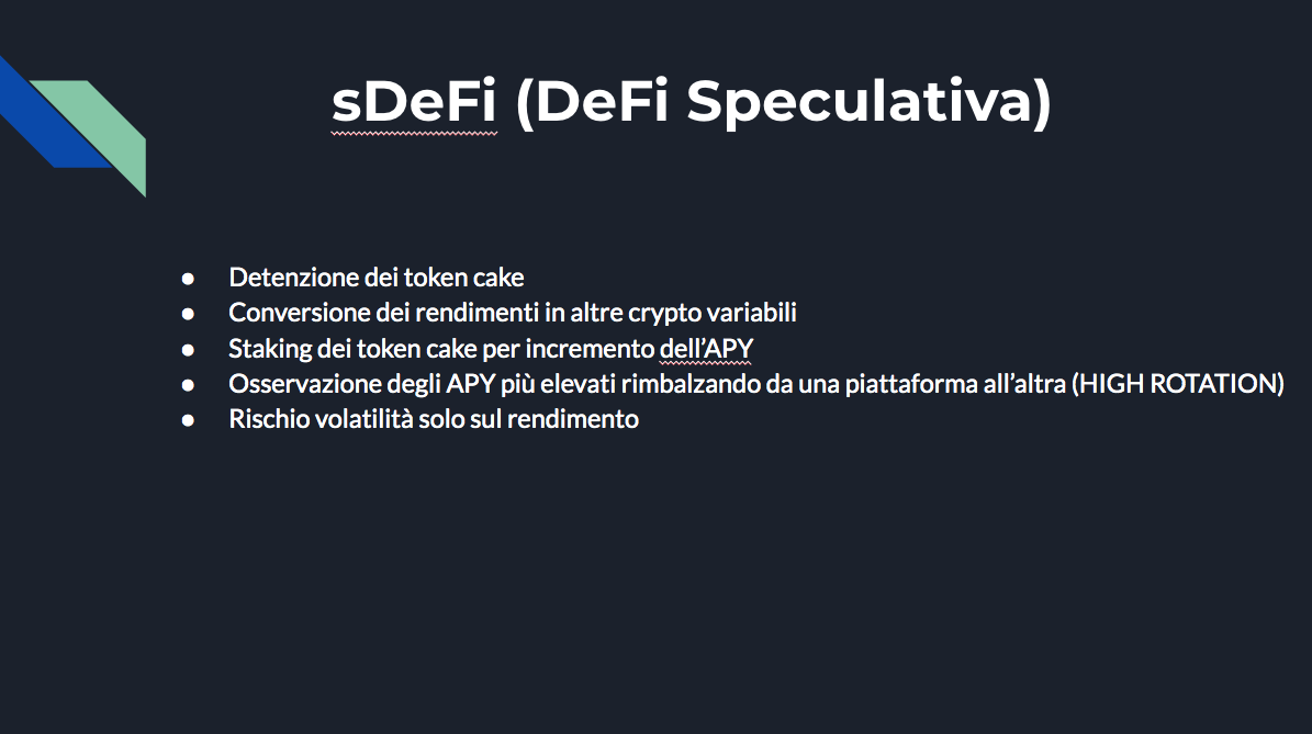 Come mettere a rendita le cryptovalute: guida completa. sdefi speculativa